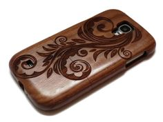 wooden Samsung Galaxy S4 case real wood S4 by CreativeUseofTech
