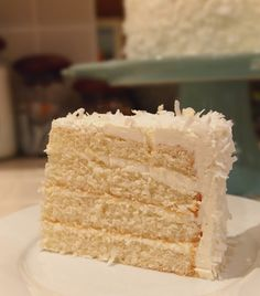 Coconut cake - America's Test Kitchen