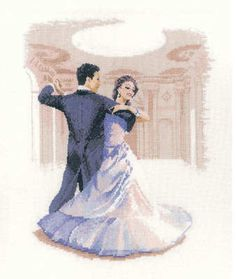 Fox Trot - John Clayton Dancer's Cross Stitch Kit Source by Embroidery On Clothes, Embroidered Clothes, Cross Stitch Kits, Cross Stitch Patterns, Cross Stitching, Cross Stitch Embroidery, John Clayton, Heritage Crafts, Embroidery Techniques