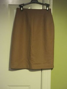 989b5af6e Women's Vintage Beige Pure Wool Savannah Pencil Skirt #fashion #clothing  #shoes #accessories