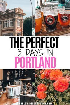 Things to do in Portland Oregon | Portland Oregon Itinerary | 3 Days in Portland Oregon | Portland 3 Days | Weekend in Portland | Portland Oregon Food | Portland Hotels | Portland Day Trips | Travel to Portland, Oregon #portlandoregon #portlandtravel #pacificnorthwest #usatravel #couplestravel Usa Travel, Travel Tips, Travel Destinations, Budget Travel, Travel Ideas, Portland Hotels, Visit Oregon, United States Travel, Portland Oregon