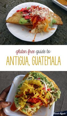 Gluten Free Guide to Antigua Guatemala