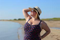 Plus size Closet Case Files Bombshell swimsuit |Cashmerette