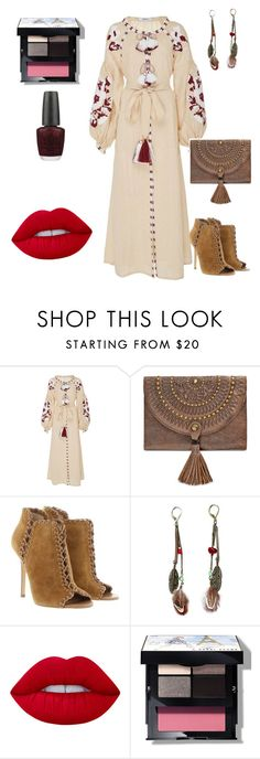 """""""Ethnic"""" by unpocoboho on Polyvore featuring Patricia Nash, Michael Kors, Lime Crime, Bobbi Brown Cosmetics and OPI"""