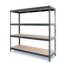 Stocker professional boltless shelving with chipboard panels Banquette, Foyer, Bookcase, Shelves, Table, Furniture, Home Decor, Kit, Modular Bookshelves