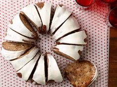Get Spiced Apple-Walnut Cake with Cream Cheese Icing Recipe from Food Network