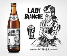 KUP -4/5- AleBrowar Lady Blanche Witbier (dla Zuzy)