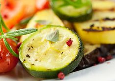 Kathie Lee & Hoda share the kitchen with Karine Bakhoum as she shares Moroccan Cumin Carrot Salad & Grilled Zucchini with Fresh Mint recipes Marinated Vegetables, Baked Vegetables, Grilled Vegetables, Mint Recipes, Raw Food Recipes, Healthy Recipes, Paleo Meals, Grilled Squash, Grilled Zucchini
