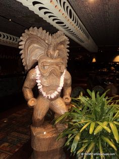 Pictures of the Tikis at 'Ohana | Walt Disney World For Grownups..