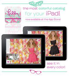 Lilly Pulitzer iPad app!