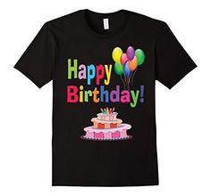 Men's Birthday Cake Party Adult Kids Boy Girl Happy Day G...