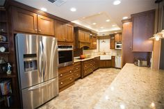 Our clients wanted a change. They needed a space that offered more room to move around, a countertop that would be durable for yours to come and cabinets that would fit almost anything. We knew exactly what to do!