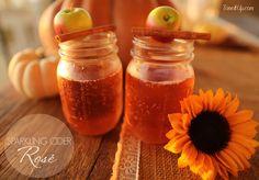 Sparkling Cider Rosé… yes way! ♡