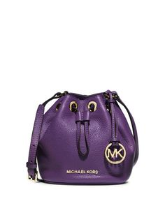 9439b1624d ... Mini Drawstring Crossbody Bag Brown 35H5GJLC3B MICHAEL Michael Kors  Jules Drawstring Crossbody Bag