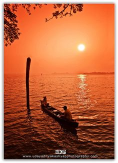 Fishing in the sea . Kerala