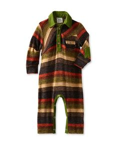 Fore!! Axel and Hudson Boy's Long Sleeve Sweater Knit Polo Romper at MYHABIT super cute
