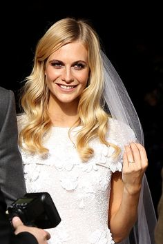 Boda Poppy Delevingne ..Hair!