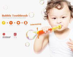 查看此 @Behance 项目: \u201cBubble Toothbrush\u201d https://www.behance.net/gallery/24618211/Bubble-Toothbrush