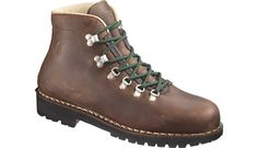My new hiking boots:  Merrell Wilderness.  Italian-made old-school alpine treaders.  White Mountains, here we come.