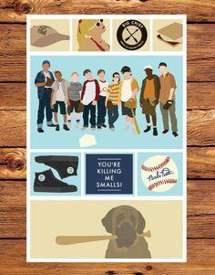 The Sandlot - 11x17 Giclee Print
