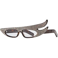 0bf38c9efe1 Gucci Crystal-embellished Sunglasses ( 975) ❤ liked on Polyvore featuring  accessories