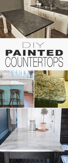 DIY Painted Countert
