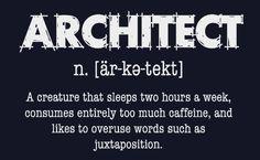 Trust me, I'm an Architect limited edition sweatshirt