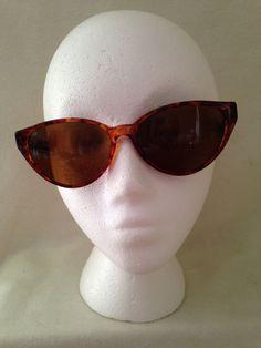 Vintage Cat Eye Sunglasses  Nine West  Brown by ThePinkVintageRose