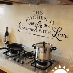 Esta cocina está sazonada con amor  #paravivirmejor