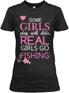 GIRLS GO FISHING 2$OFF   Teespring