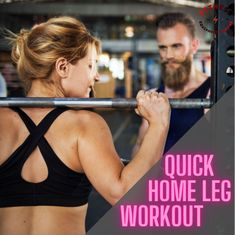 You don't need to workout for an hour to get a great leg workout, you just need to increase the intensity. Follow this workout when you're short on time and still want those gains! Great Leg Workouts, Leg Workout At Home, At Home Workouts, Series 3, No Equipment Workout, Have Time, Routine, Legs, Fitness
