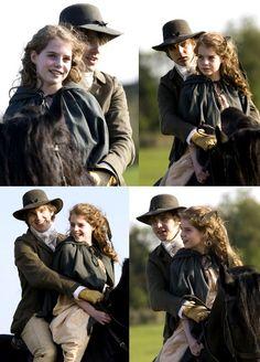 Dan Stevens (Mr. Edward Ferrars) & Lucy Boynton (Margaret Dashwood) - Sense & Sensibility directed by John Alexander (TV Mini-Series, BBC, 2008) #janeausten