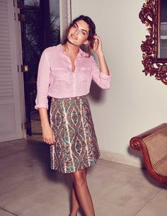 229b7ddf8b Kenton Emilia Print Skirt | Clothing | New Arrivals | Collections ...