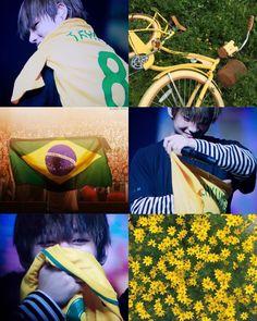 Taehyung Brazil aesthetic