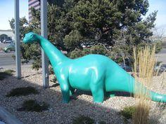 Stir Fried Minnows: It's Dinosaur Friday Dinosaur Yard Art Lakewood Colorado, My Kind Of Town, Public Art, Yard Art, Dinosaurs, Sculpture Art, Dinosaur Stuffed Animal, Separate, Denver