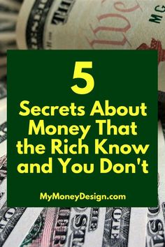 How is it that the Rich become rich? What are the secrets to money that they seem to know and the rest of us dont? In this post were going to take a look at some of their best-working strategies and learn how we can use them in our own lives. Ways To Save Money, Money Tips, Money Saving Tips, How To Make Money, Money Budget, Money Hacks, Win Money, Managing Money, What Is The Secret
