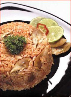 Arroz con machas o almejas Cocina Arequipena y del Sur