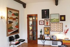Dabito's Modern Meets Classic Mix - AT House Tour Love this tour, and the Japanese-style tapestry, left...