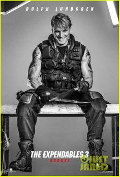 Dolph Lundgren. 'Expendables 3' Character Posters | kellan lutz jason statham military hotties for expenda...