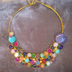 #gargantillacuajada #oshjewellery Para pedidos, oshjewellery@gmail.com
