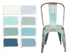 Coastal Style: Painted Vintage Chic