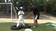 Tire Weight Shift Batting Drill