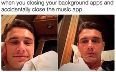 2015 was the year of disappointment: when you close your background apps and accidentally close the music app