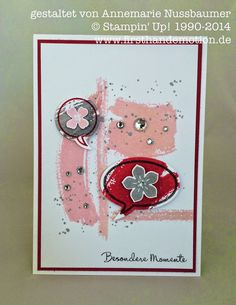 Stampin' Up! by First Hand Emotion: Work of Art in Pastellfarben