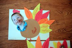 Turkey yourself + 5 Easy Turkey Crafts for Kids