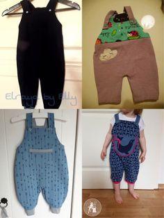 Die 10 besten Bilder von Kinderhosen | Baby sewing, Sewing