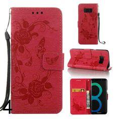 Etui fleur Samsung Galaxy S8,discount housse de protection pour Samsung Galaxy S8 unicolore etui_sam1021S8