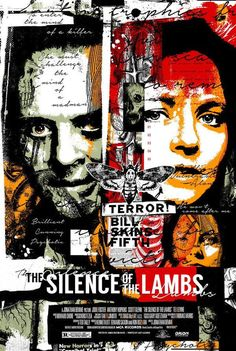 The Silence Of The Lambs - The design gives me a slight chill down my spine, just like the movie.