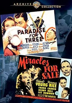 Robert Young: Wac X2 Feature (2 Discs)  Miracles for Sale - letzter Film von Tod Browning