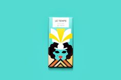 Le Temps Chocolate Packaging Lets The Cacao Content Influence The Design